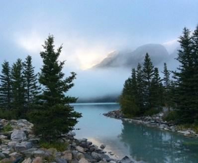 A River in Banff