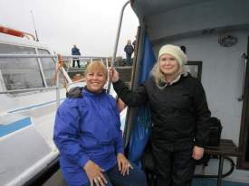 Sailing to Skellig Michael
