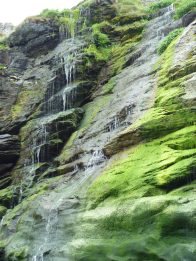 Waterfall by Merlin's Cave