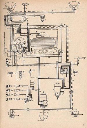 1954 Beetle Wiring Diagram   TheGoldenBug