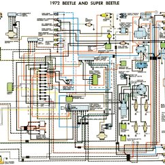Vw Beetle Wiring Diagram 2000 Pontiac Grand Prix 1972 Thegoldenbug