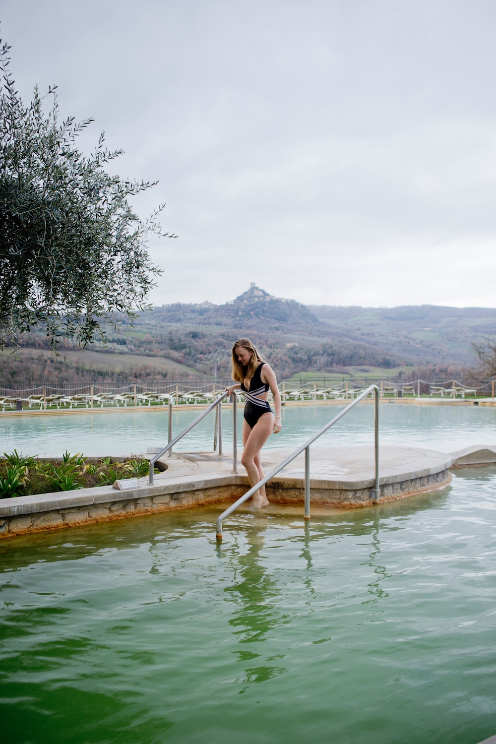 English Hot springs in Tuscany  Albergo Posta Marcucci Bagno Vignoni