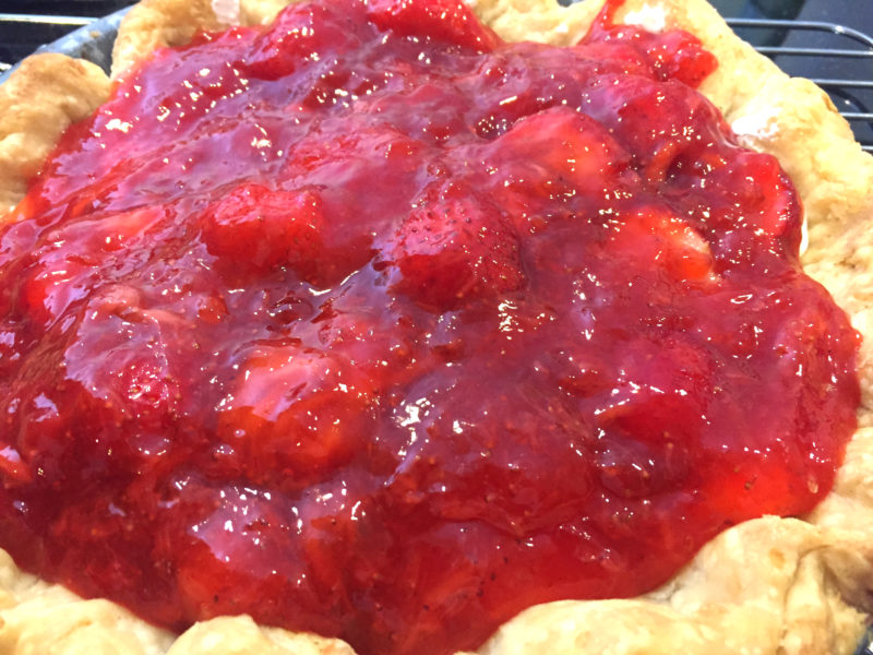 The Finest Strawberry Pie The Golden Dish