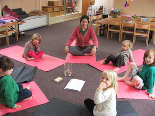 Golden Child Yoga, yoga for children with Jotipal Kaur, Frome