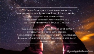Golden Light *NOW* Moment ~ Your Higher Self