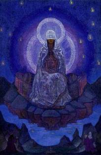The Mother of the World by Nicholas Roerich