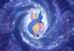 Cosmic Threefold Flame