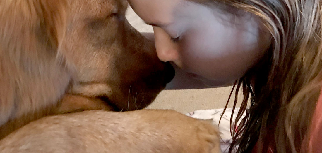 Dog & Girl