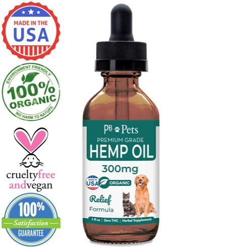 PB Hemp Oil for Dogs