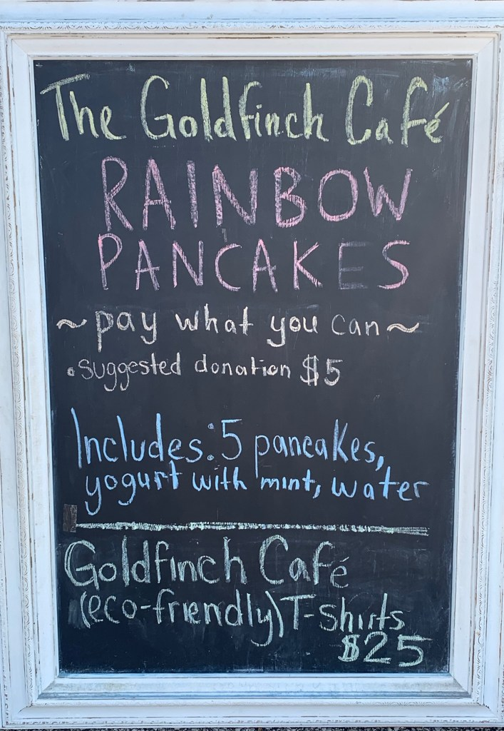 The Goldfinch Cafe - Pancakes for Everyone Fundraiser