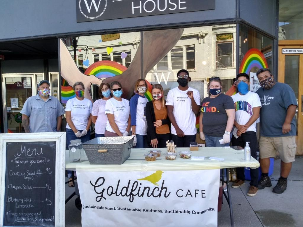 The Goldfinch Cafe Volunteers