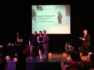 Winning the Rococo Campaign award