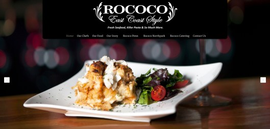 New Rococo Website