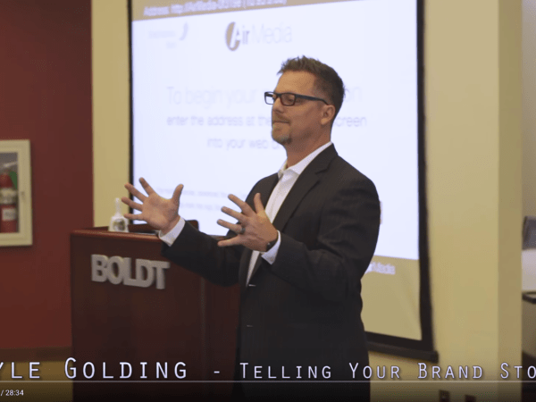 Don't Sell. Build Audience. – Kyle Golding, CEO of The Golding Group