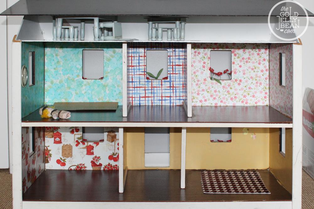 dollhouse sofa donation renovation   the gold jellybean