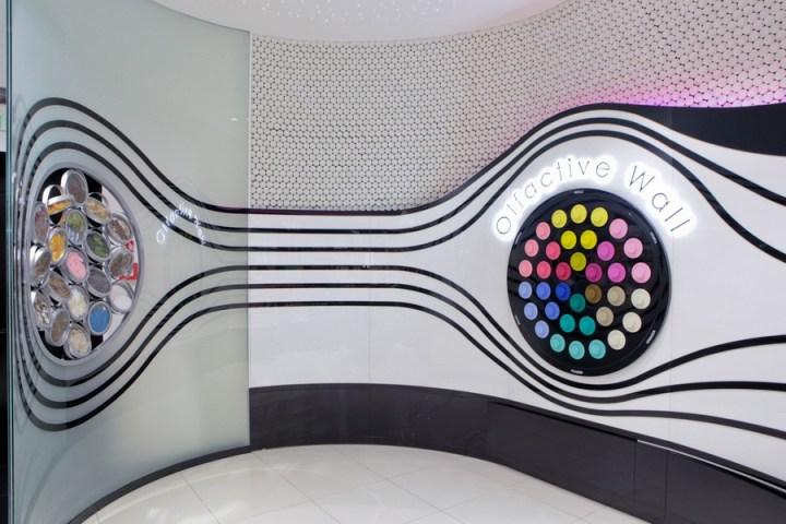 Sephora Olfactive Wall