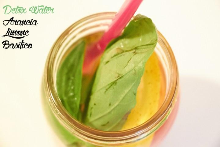 detox water arancia limone basilico2 copia