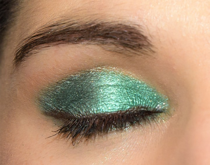 MAKE UP VERDE INTENSO PER OCCHI CASTANI