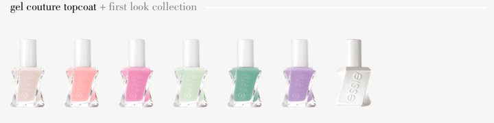 essie gel couture atelier collection first look pastels