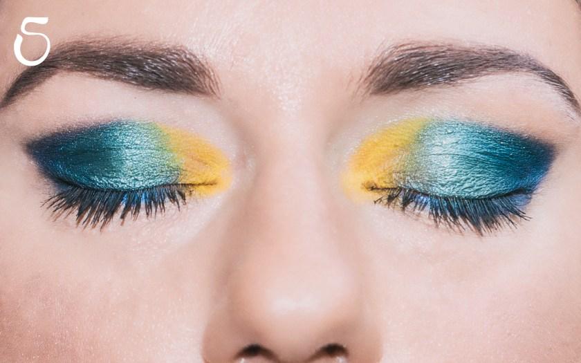 Make Up pavone peacock 5