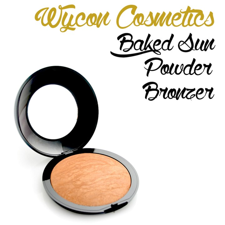 WYCON baked bronzer