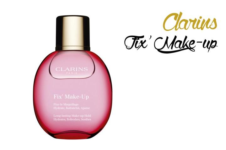 Clarins fix make up