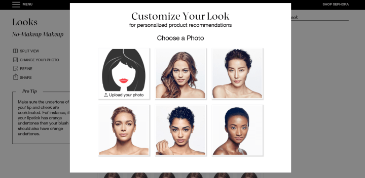 Sephora Virtual Artist 7