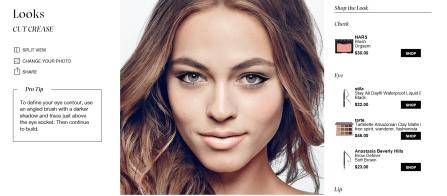Sephora Virtual Artist Cut Crease