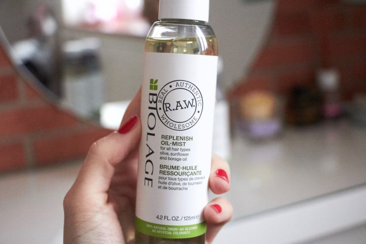BIOLAGE RAW oil mist 1