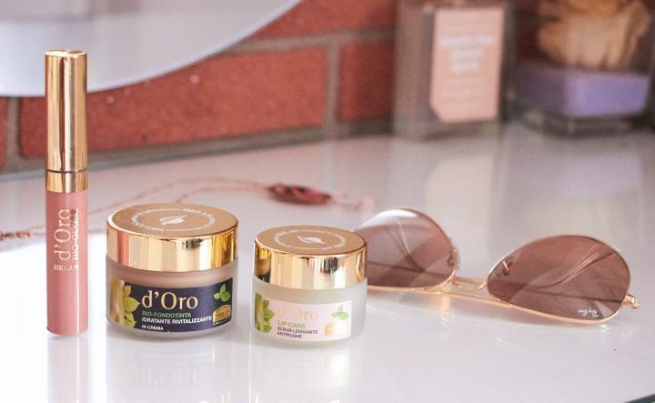 D'Oro Helan | Fondotinta, Lip Scrub & Rossetto