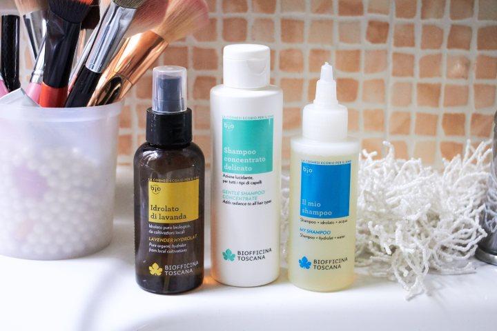 Shampoo delicato e Idrolato alla Lavanda Biofficina Toscana | Recensione