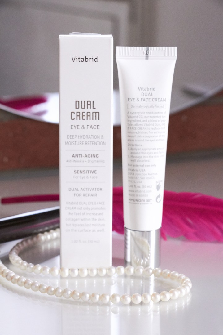 Vitabrid Dual Cream Eye Face Vitamina C
