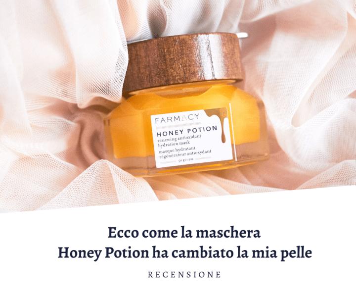 Pelle come nuova con la maschera viso Honey Potion, Farmacy Beauty