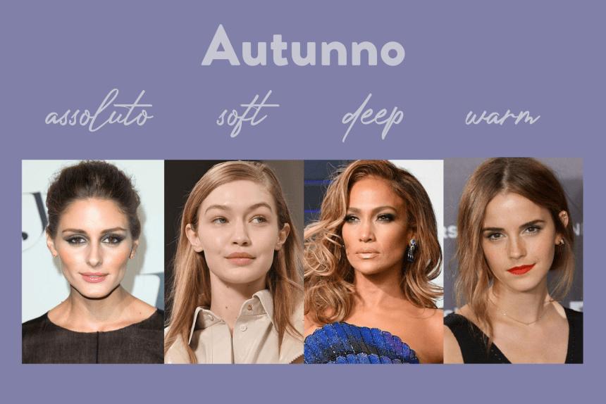 autunno soft autunno warm autunno deep armocromia