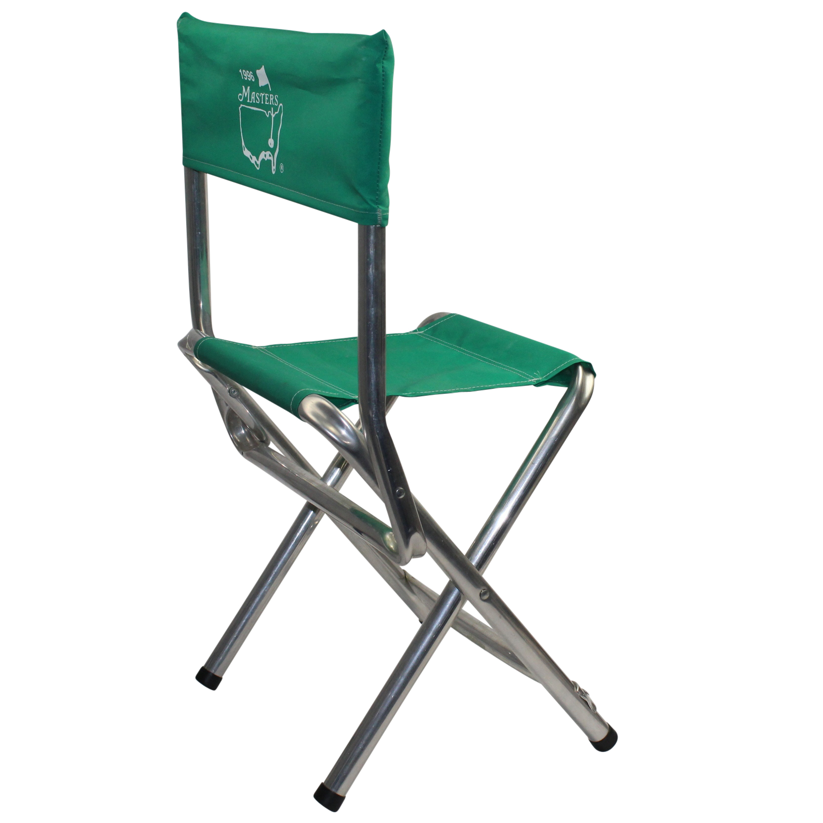 portable chairs for golf tournaments used massage sale lot detail 1996 masters tournament chair