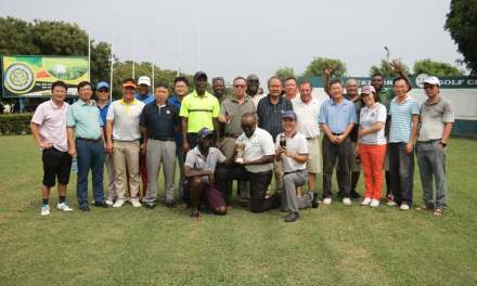 Ghana wins second Ghana – China Friendly Golf