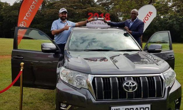 Hole in One craze – Ryan takes home a brand new 2018 Toyota Prado