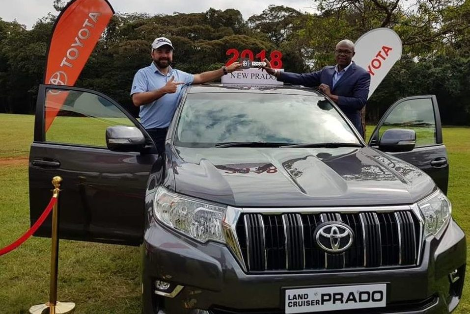 Hole in One craze – Ryan takes home a brand new 2018 Toyota Prado