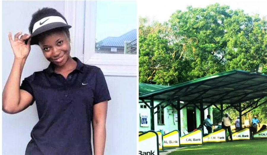 Finding solace in golf – Barbara Mahama takes to the practice range