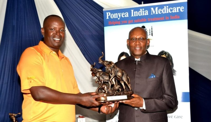 MASHUJAA PONYEA INDIA MEDICARE GOLF DAY AT RUIRU SPORTS CLUB