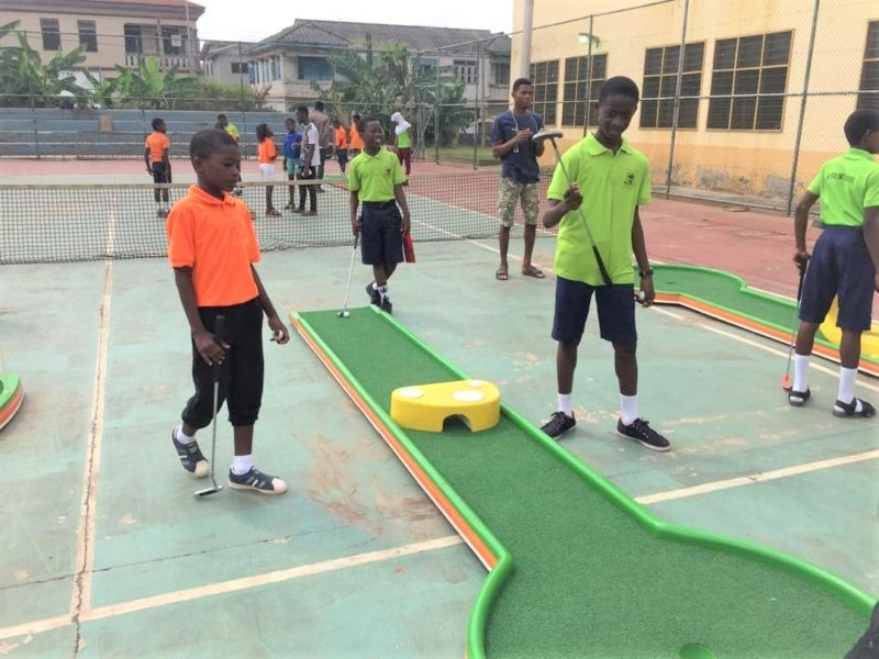 UNILEVER MINIGOLF SCHOOLS COMPETITION TOUCHES FINALS