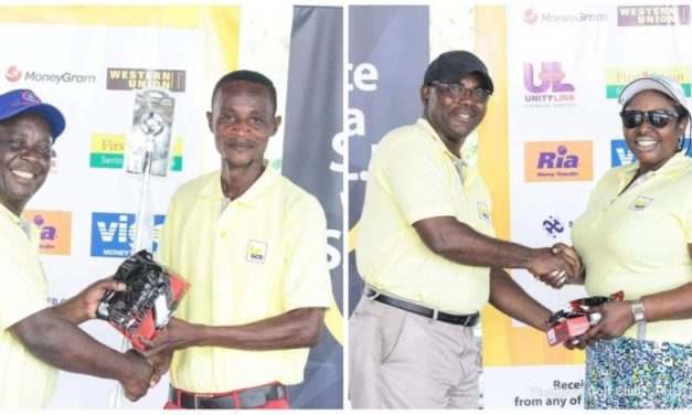 DANIEL NTIM AND MAGGIE ODURO CROWNED GCB CHAMPION OF CHAMPIONS 2018