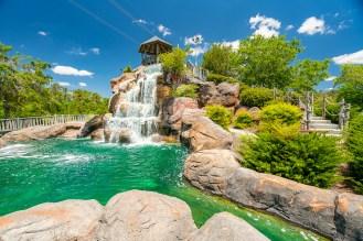 Waterfalls at Golfin' Dolphin