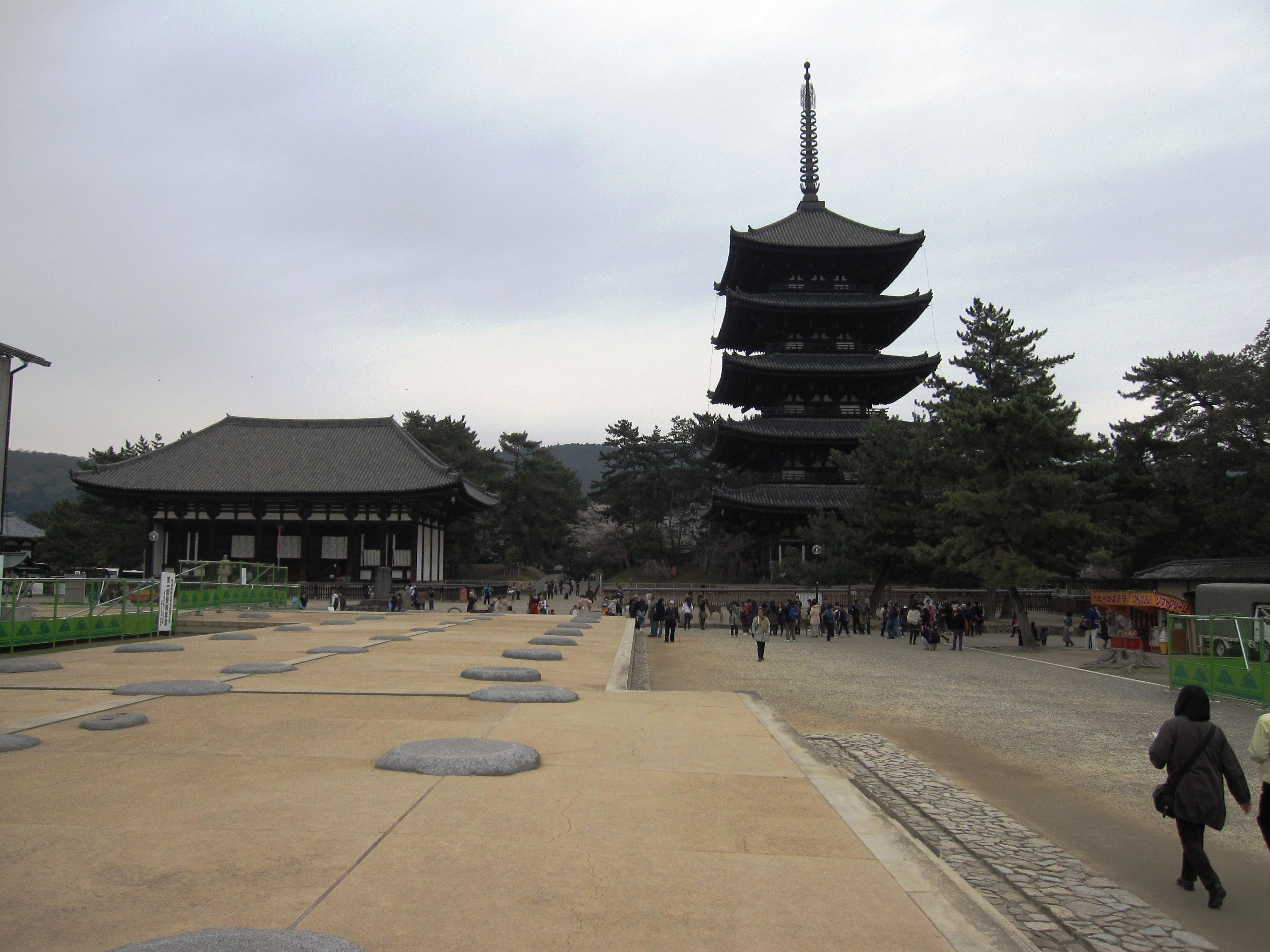 Kohkufuji In Nara