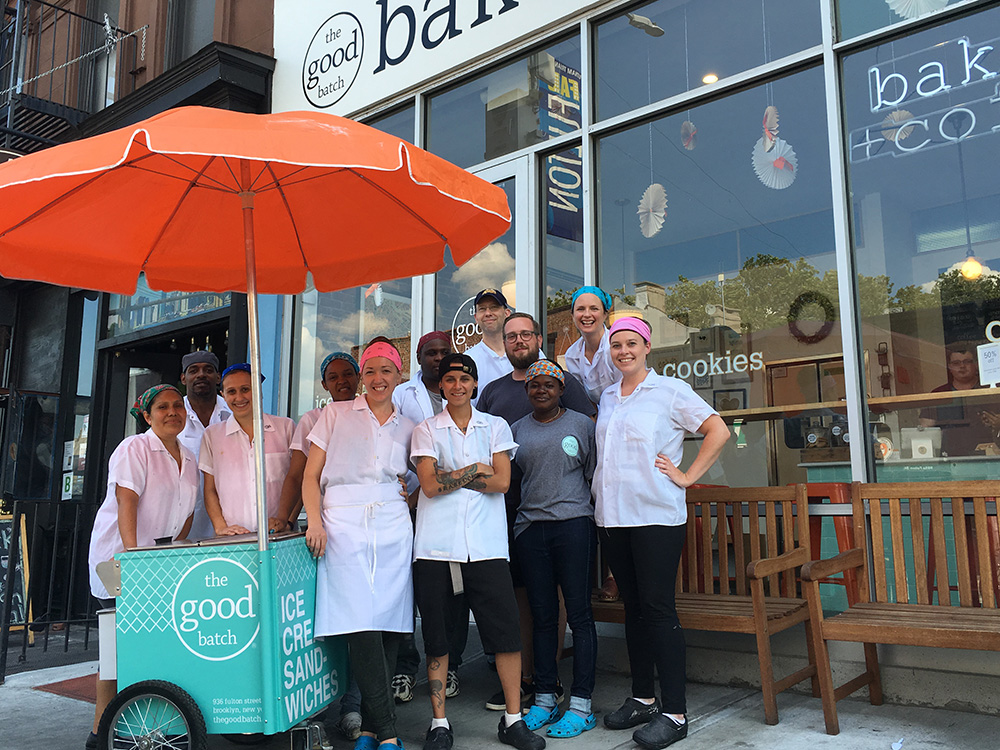 The Good Batch, bakery, Brooklyn, Team