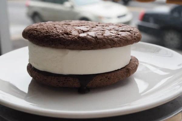 The Good Batch - Mint Brownie Magic Ice Cream Sandwich