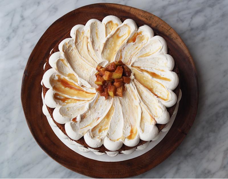 Thanksgiving Dessert - Bourbon Apple Cake