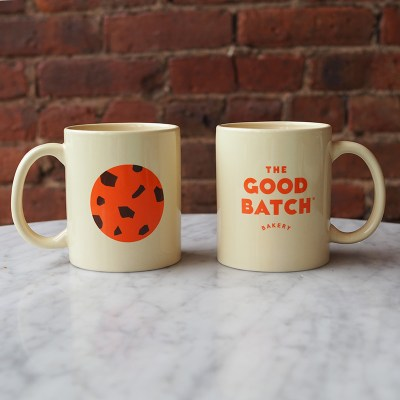 The Good Batch Bakery Mug, Clinton Hill Brooklyn