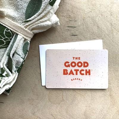 The Good Batch Bakery GIft Card Clinton Hill Brooklyn