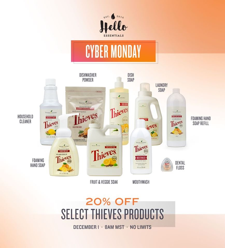 Cyber Monday Deals Ningxia Thieves Line The Good Drop Essential Oils
